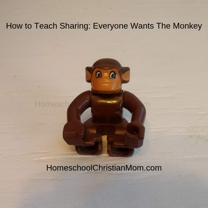 Teaching Sharing: 1 Way a Monkey Can Teach Sharing